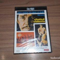 Cine: CIUDAD VIOLENTA DVD CINE NEGRO CHARLES BRONSON TELLY SAVALAS JILL IRELAND NUEVA PRECINTADA. Lote 194271893