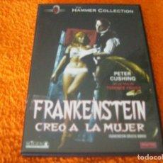 Cine: FRANKENSTEIN / CREO A LA MUJER / SUPER RARA DESCATALOGADA . Lote 194272150