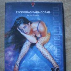 Cine: DVD PORNO. ESCOGIDAS PARA GOZAR. ORIGINAL. PERFECTO VISIONADO. Lote 194279802