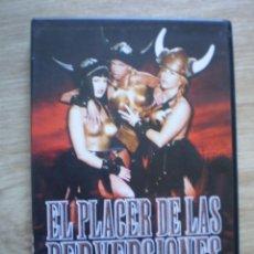 Cine: DVD PORNO. EL PLACER DE LAS PERVERSIONES. ORIGINAL. PERFECTO VISIONADO. Lote 194279891