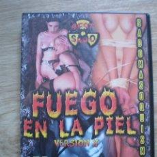 Cine: DVD PORNO. FUEGO EN LA PIEL. ORIGINAL. PERFECTO VISIONADO. Lote 194280077