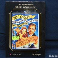 Cine: UN YANQUI EN LA CORTE DEL REY ARTURO - DVD. Lote 194280280