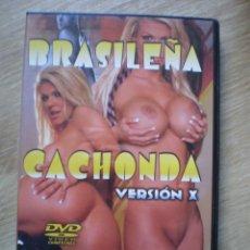 Cine: DVD PORNO. BRASILEÑA CACHONDA. ORIGINAL. PERFECTO VISIONADO. Lote 194280312