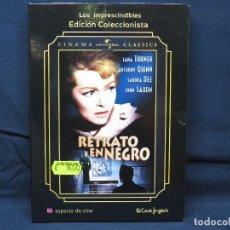 Cinema: RETRATO EN NEGRO - DVD. Lote 194282435