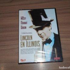 Cine: LINCOLN EN ILLINOIS DVD DE JOHN CROMWELL NUEVA PRECINTADA. Lote 194289175