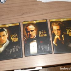 Cine: TRILOGIA EL PADRINO EDICION ESPECIAL 4 DVD DE FRANCIS FORD COPPOLA AL PACINO COMO NUEVAS. Lote 194289286