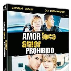 Cine: AMOR LOCO / AMOR PROHIBIDO - CRAZY/BEAUTIFUL (NUEVO). Lote 194293392
