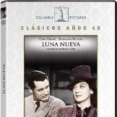 Cine: LUNA NUEVA - HIS GIRL FRIDAY (NUEVO). Lote 194293520