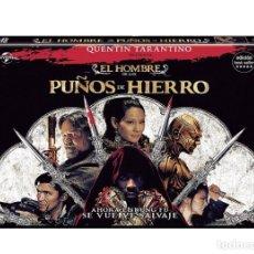 Cine: EL HOMBRE CON LOS PUÑOS DE HIERRO - THE MAN WITH THE IRON FISTS (NUEVO). Lote 194296630
