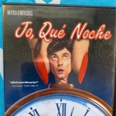 Cine: JO, QUÉ NOCHE (DVD). Lote 194296671