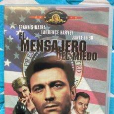 Cine: EL MENSAJERO DEL MIEDO (DVD). Lote 194298570