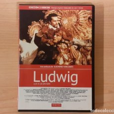 Cine: LUDWIG (LUIS II DE BAVIERA) LUCHINO VISCONTI, HELMUT BERGER, ROMY SCHNEIDER 2 DISCOS. Lote 194308868
