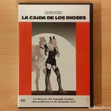Cine: LA CAÍDA DE LOS DIOSES (LA CADUTA DEGLI DEI) LUCHINO VISCONTI, DIRK BOGARDE, INGRID THULIN. Lote 194309347