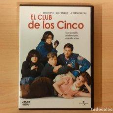 Cine: EL CLUB DE LOS CINCO (THE BREAKFAST CLUB) JOHN HUGHES, EMILIO ESTEVEZ, MOLLY RINGWALD DESCATALOGAD. Lote 194310272