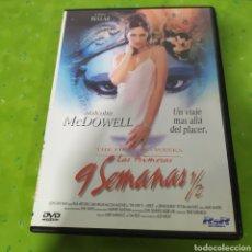 Cine: (S185) LAS PRIMERAS 9 SEMANAS 1/2 (DVD SEGUNDAMANO). Lote 194319213