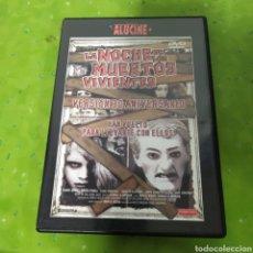 Cine: (S189) LA NOCHE DE LOS MUERTOS VIVIENTES (DVD SEGUNDAMANO). Lote 194328376
