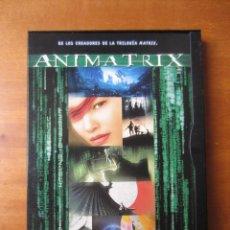 Cine: ANIMATRIX (DVD CAJA CARTON). Lote 194331777