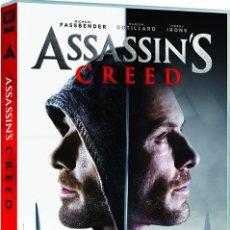 Cine: DVD ASSASINS CRED (2016) NUEVO. Lote 194339915
