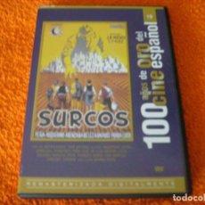 Cine: SURCOS / OBRA MAESTRA DEL CINE ESPAÑOL TODO UN CLASICO. Lote 194340320