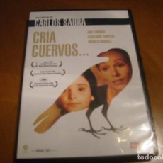 Cine: CRIA CUERVOS / CARLOS SAURA / CLASICO DEL CINE ESPAÑOL MANGA FILMS. Lote 194341028