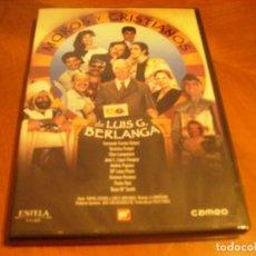 Cine: MOROS Y CRISTIANOS / BERLANGA RAREZA DVD EXCELENTE ESTADO. Lote 194350500