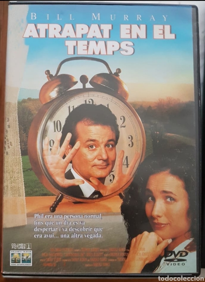 Cine: DVD EN CATALÀ: ATRAPAT EN EL TEMPS. BILL MURRAY, MCDOWELL - Foto 1 - 194352332