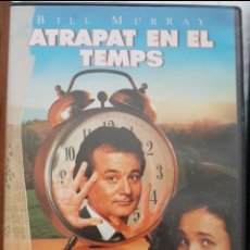 Cine: DVD EN CATALÀ: ATRAPAT EN EL TEMPS. BILL MURRAY, MCDOWELL. Lote 194352332