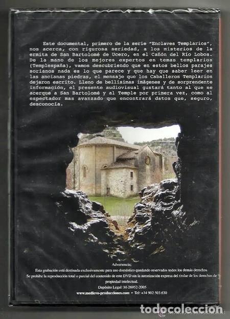 Cine: Enclaves Templarios, 1: Cañón del Río Lobos - Medievo Producciones/Templespaña | SERIE LIMITADA - Foto 2 - 194357266