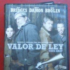 Cine: VALOR DE LEY. Lote 194359920