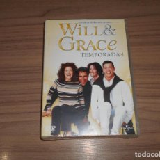 Cine: WILL & GRACE TEMPORADA 4 COMPLETA DVD 450 MIN. NUEVA PRECINTADA. Lote 235178125