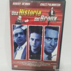 Cine: (DVS 7) UNA HISTORIA DEL BRONX ‐ DVD SEGUNDA MANO TAPA FINA. Lote 194378988