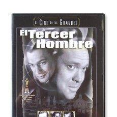 Cine: EL TERCER HOMBRE ( DVD ). Lote 194380580