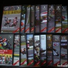 Cine: COLECCION OFICIAL MOTOGP 2008 DEL Nº 1 AL 18 + EL RESUMEN DE LA TEMPORADA EN 2 DVD - DVD COMO NUEVOS. Lote 194487810