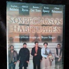 Cine: DVD ORIGINAL. SOPECHOSOS HABITUALES. DESCATALOGADO. PRECINTADO.. Lote 194495227