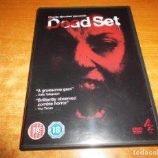 Cine: DEAD SET DVD DEL AÑO 2009 EN INGLES CHARLIE BROOKER . Lote 194520300
