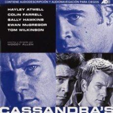 Cine: DVD EL SUEÑO DE CASANDRA. Lote 194520690