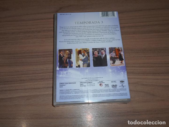 Cine: WILL & GRACE Temporada 3 completa DVD 530 Min. NUEVA PRECINTADA - Foto 2 - 194528488