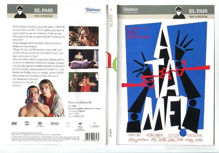 ÁTAME, CON ANTONIO BANDERAS. DVD. (Cine - Películas - DVD)