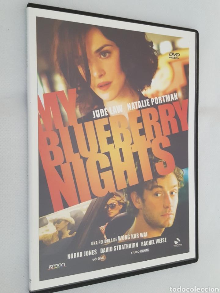 DVD CINE / MY BLUEBERRY NIGHTS DE WONG KAR WAI / NUEVA, CAJA DELGADA. (Cine - Películas - DVD)