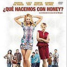Cine: DVD QUE HACEMOS CON HONEY. Lote 194537836