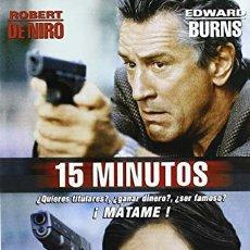 Cine: DVD 15 MINUTOS. Lote 194541802