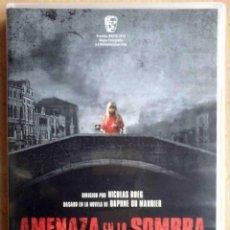 Cine: TODODVD: AMENAZA EN LA SOMBRA (DONALD SUTHERLAND, JULIE CHRISTIE, HILARY MASON, RENATO SCARPA) . Lote 194542367