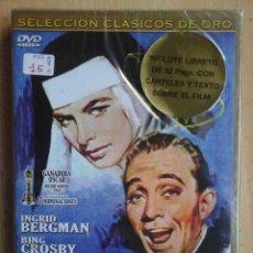 Cine: TODODVD: PRECINTADO. LAS CAMPANAS DE SANTA MARÍA (BING CROSBY, INGRID BERGMAN, HENRY TRAVERS). Lote 194542563