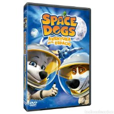 Cine: DVD SPACE DOGS. Lote 194548396