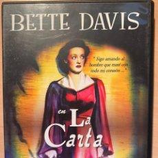Cine: LA CARTA (DVD). Lote 194575231