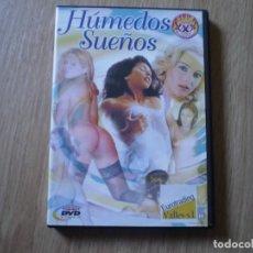 Cine: DVD PORNO. HUMEDOS SUEÑOS. ORIGINAL. PERFECTO VISIONADO. Lote 194575321
