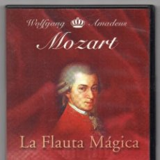 Cine: LA FLAUTA MÁGICA. DVD. ÓPERA EN DOS ACTOS. JUNGE BÜNDESLANDER PHILHARMONIE. Lote 194575426