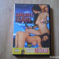Cine: DVD PORNO. GARGANTA CALIENTE. ORIGINAL. PERFECTO VISIONADO. Lote 194575478