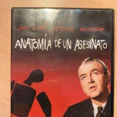 Cine: ANATOMIA DE UN ASESINATO (DVD). Lote 194582680