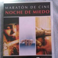 Cine: DVD NOCHE DE MIEDO TRES PELICULAS. Lote 194583242